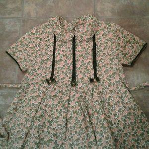 Vintage Floral Luli & Me Spring Dress 8 (58)